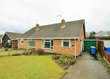 Thumbnail 2 bed semi-detached bungalow for sale in Keyworth Drive, Forest Town, Mansfield, Nottinghamshire