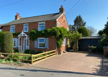 Thumbnail 3 bed semi-detached house for sale in Church Road, Tattingstone, Ipswich