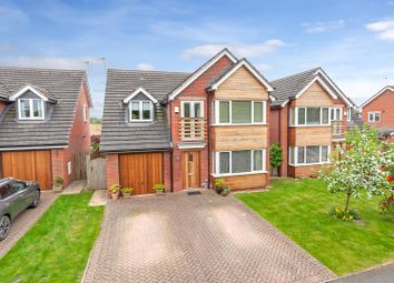 Thumbnail 3 bed detached house for sale in Pradoe View, West Felton, Oswestry