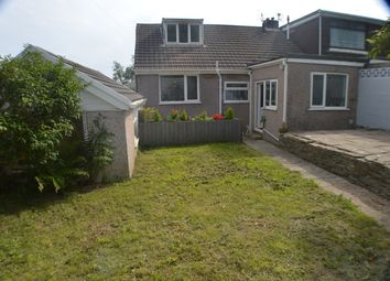 Thumbnail 2 bed semi-detached bungalow for sale in Dynevor Close, Skewen, Neath