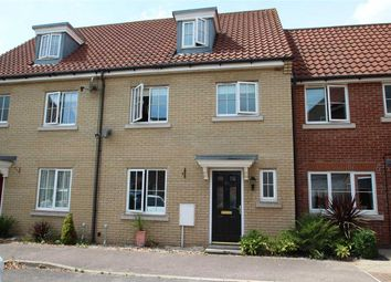 Thumbnail 4 bedroom town house for sale in Quantrill Terrace, Grange Farm, Kesgrave, Ipswich