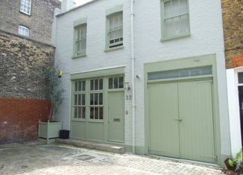 Thumbnail 3 bed mews house to rent in Weymouth Mews, Marylebone Village, London