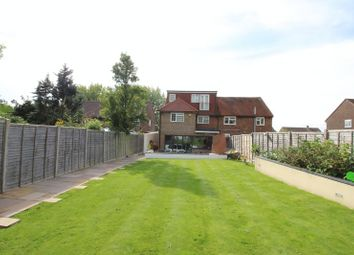 Thumbnail 4 bed semi-detached house for sale in Stanborough Avenue, Borehamwood