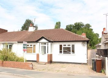 Thumbnail 2 bed bungalow for sale in Crowther Road, Newbridge, Wolverhampton