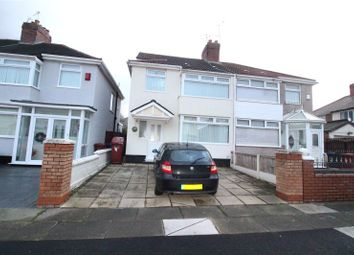 Thumbnail 4 bed semi-detached house for sale in Beechburn Road, Liverpool, Merseyside