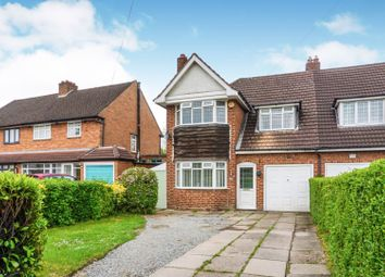 Thumbnail 3 bedroom semi-detached house for sale in Old Lode Lane, Solihull