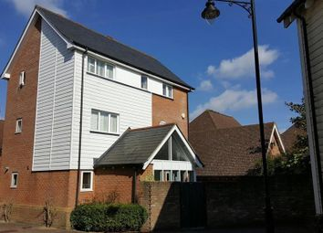 Thumbnail 4 bed detached house for sale in Niagara Close, Kings Hill, West Malling, Kent