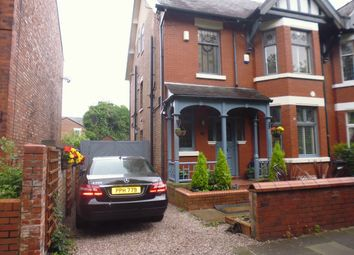 Thumbnail 5 bed semi-detached house for sale in Kennerley Road, Stockport