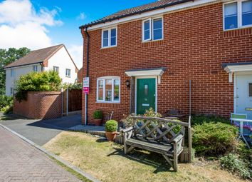 Thumbnail 3 bed semi-detached house for sale in Heron Road, Saxmundham