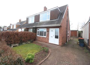 Thumbnail 3 bed semi-detached house to rent in Wavell Drive, Malpas, Newport