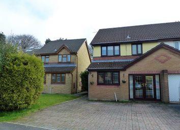 Thumbnail 3 bed semi-detached house for sale in Rowans Lane, Bryncethin, Bridgend, Mid Glamorgan.