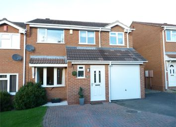 Thumbnail 4 bedroom semi-detached house for sale in Trent Close, Broughton Astley, Leicester