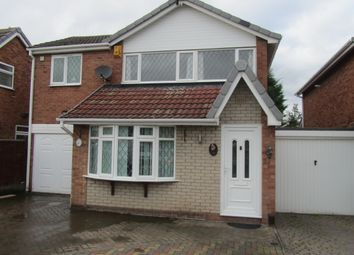 Thumbnail 4 bed detached house to rent in Arran Close, Nuneaton, Warwickshire, Warwickshire