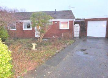 Thumbnail 2 bed bungalow for sale in Maes Talcen, Brackla, Bridgend.