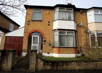 Thumbnail 3 bedroom semi-detached house for sale in Essex Road, South Woodford