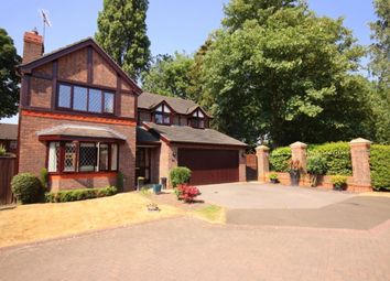 Thumbnail 4 bed detached house for sale in Lewis Close, Nantwich