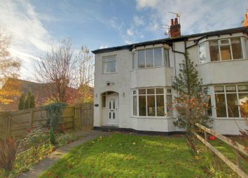 Thumbnail 3 bed semi-detached house to rent in Woodgates Lane, North Ferriby, East Riding Of Yorkshire