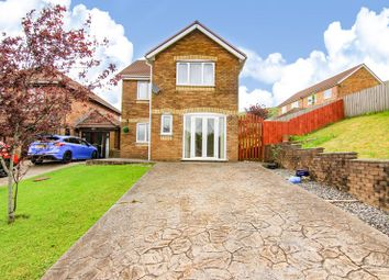 Thumbnail 3 bed detached house for sale in Tanglewood Drive, Blaina, Abertillery