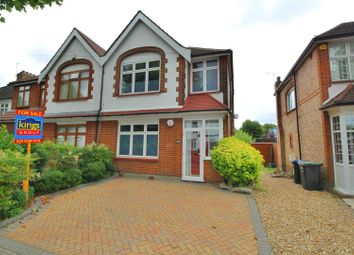 Thumbnail 3 bed semi-detached house for sale in Wellington Road, Enfield