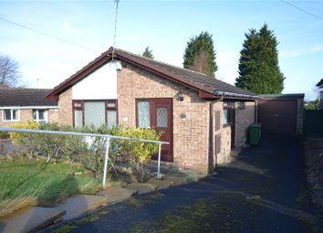Thumbnail 2 bed detached bungalow for sale in Barleyfield Close, Wakefield, West Yorkshire