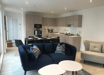 Thumbnail 3 bed flat to rent in Old Oak Road, London