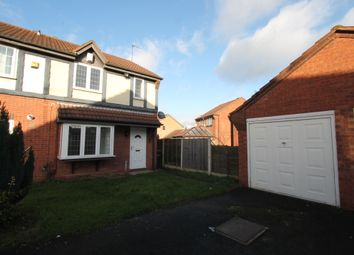 Thumbnail 3 bedroom town house for sale in Harebell Close, Walsall