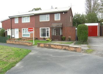 Thumbnail 3 bedroom semi-detached house for sale in Claverley Drive, Warstones, Wolverhampton