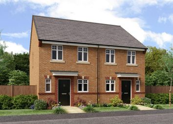 "Thumbnail 2 bed semi-detached house for sale in ""The Burroughs"" at Former Sunderland College, Shiney Row"