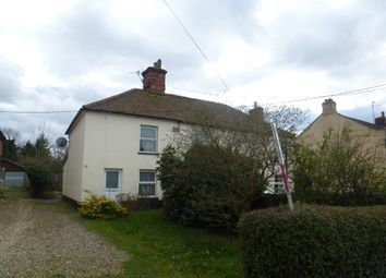 Thumbnail 2 bed semi-detached house for sale in Brandon Road, Watton, Thetford