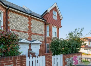 Thumbnail 3 bed end terrace house to rent in Falmer Road, Rottingdean, Brighton