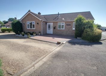 Thumbnail 3 bed detached bungalow for sale in Church View, Northborough, Peterborough