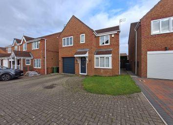 Thumbnail 4 bed detached house for sale in Knaresborough Close, Bedlington