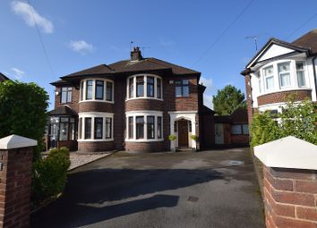 Thumbnail 4 bed semi-detached house for sale in Harewood Road, Coventry