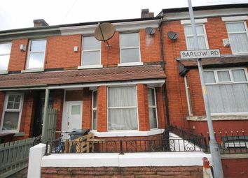 Thumbnail 4 bedroom terraced house to rent in Barlow Road, Levenshulme, Manchester