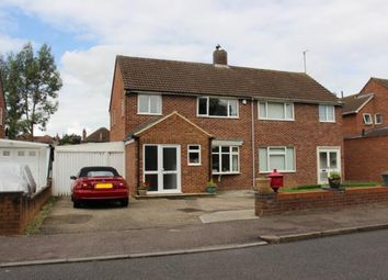 Thumbnail 3 bed semi-detached house to rent in Foxlease, Bedford