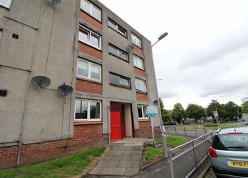 Thumbnail 3 bed flat for sale in Darwin Place, Clydebank