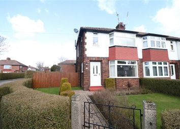 Thumbnail 3 bed semi-detached house for sale in Knowe Park Avenue, Carlisle, Cumbria