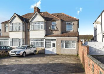 Thumbnail 6 bed semi-detached house for sale in Church Road, Northolt, Middlesex