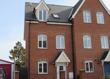 Thumbnail 3 bed town house to rent in Howard Street, Ipswich