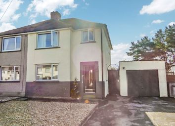Thumbnail 3 bed semi-detached house for sale in 2 Skinburness Drive, Silloth, Cumbria