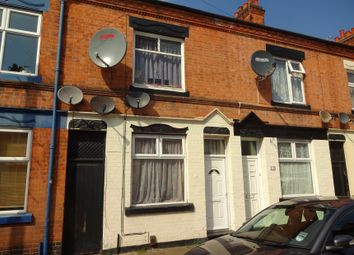 Thumbnail 2 bedroom terraced house for sale in Battenberg Road, Off Tudor Road, Leicester