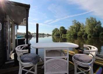 Thumbnail 2 bed houseboat for sale in Bells Boat Yard, Brundall, Norfolk