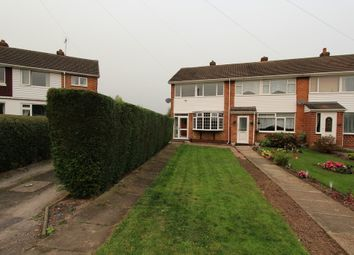 Thumbnail 3 bed end terrace house to rent in Castle Close, Tamworth