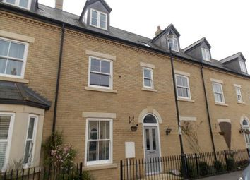 Thumbnail 4 bed town house for sale in Dickens Boulevard, Fairfield, Hitchin