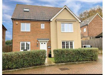 Thumbnail 5 bed detached house for sale in Bradbrook Drive, Longfield