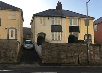 Thumbnail 3 bedroom semi-detached house for sale in North Road, Saltash
