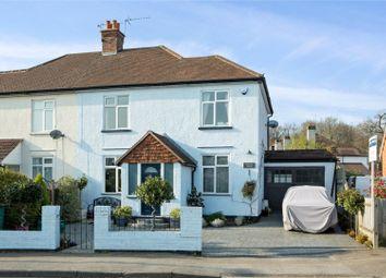 Thumbnail 3 bed semi-detached house for sale in Steels Lane, Oxshott, Leatherhead, Surrey