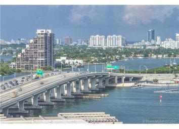 Thumbnail 3 bed town house for sale in 1100 Biscayne Blvd 2001, Miami, Fl, 33132
