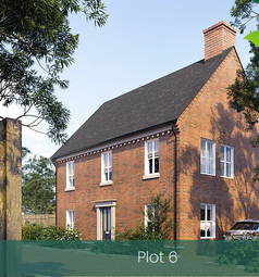 Thumbnail 4 bed detached house for sale in Station Road, Madeley, Telford