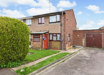 Thumbnail 4 bed semi-detached house for sale in Chestnut Close, Blackwater, Camberley